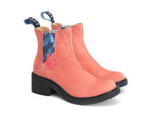 Nap Salmon Crepe soled chelsea boot