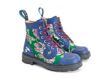 Derby Swirl (6 Oeillets) Jacquard floral vert Classic Derby Boot