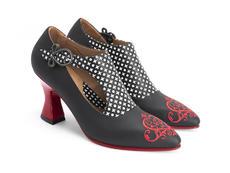 Darla IFD Buckled leather heel