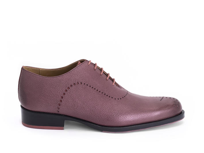 61 William St Violet Oxford à bout golf simple