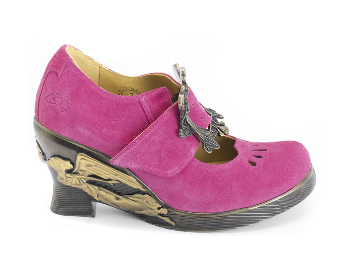 Monika Pink Custom buckled mary jane