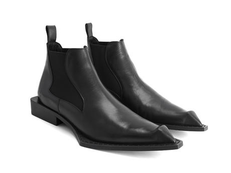 Matlock Black Wicked chelsea boot