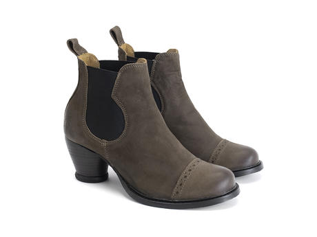 Odlum Brown Brogued chelsea boot