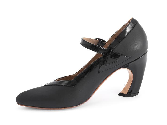 Tango Black Mary jane heel