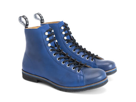 Phil Blue Modern lace-up boot