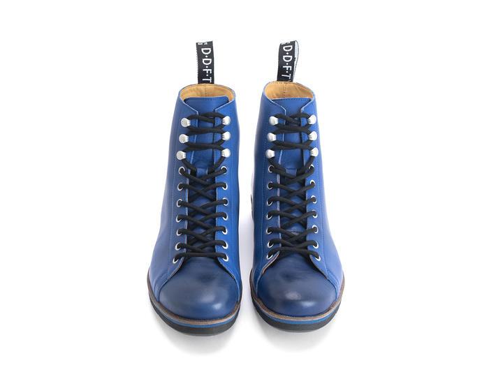 Phil Bleu Botte lacée moderne