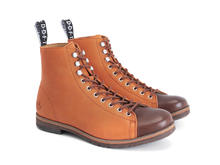 Phil Orange Modern lace-up boot