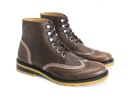 Jonah Brown Brogued lace-up boot