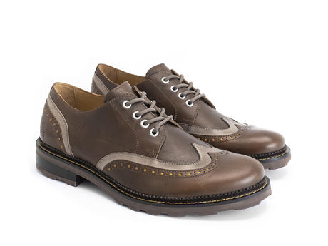 Nathaniel Brown Double wing-tip derby