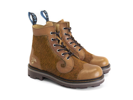 Derby Swirl (6 Eye) Honey Classic Derby Boot