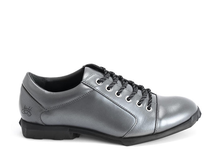 Elroy Silver Capped toe derby