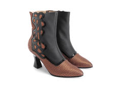 Marsai Copper Lattice pattern boot