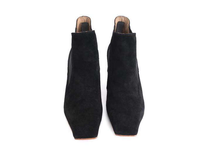 Baroness Black Square toe chelsea boot
