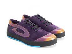 E-Type Purple Low top sneaker