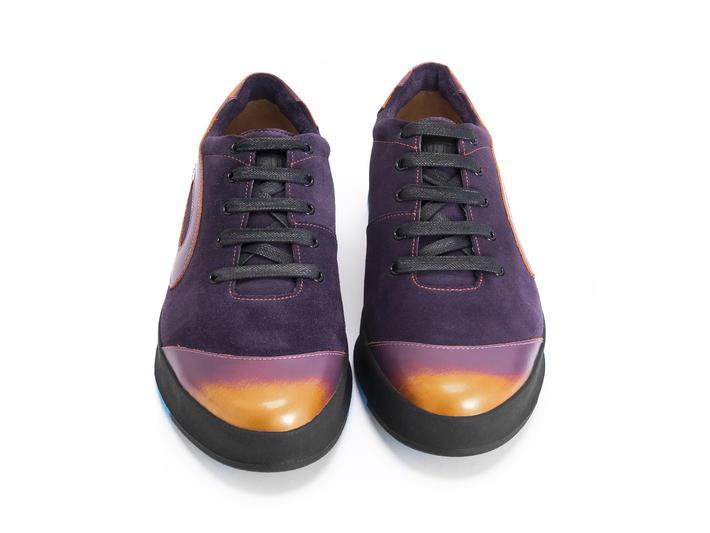 E-Type Purple Low top sneaker