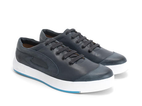 E-Type Navy Low top sneaker
