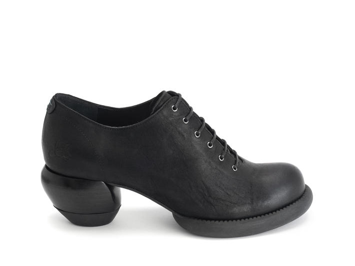 Waymouth Black Lace-up shoe