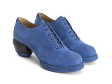 Waymouth Blue Lace-up shoe