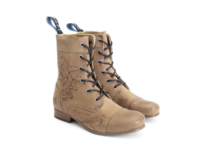 BBC: Women's Flummunity Fest Classic Lace-up Boot