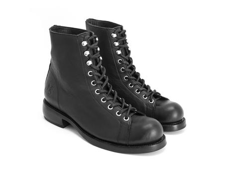 Ricard Black Lace-up ankle boot