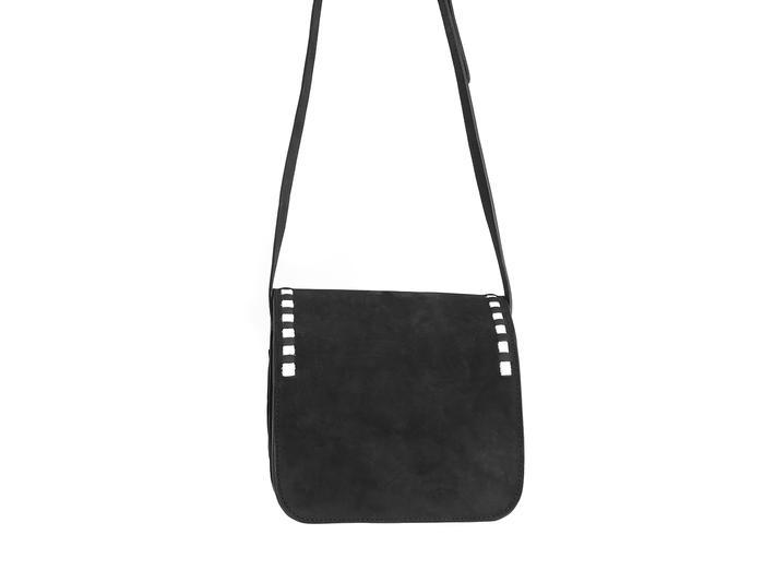 Valerie bag Black Small leather satchel