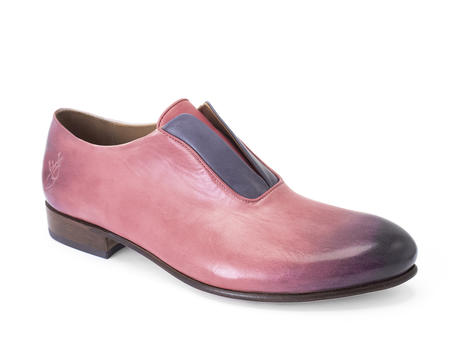 Kingsley Pink Lace-less oxford
