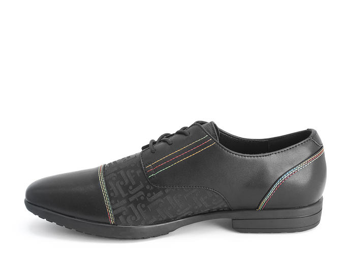 Breton Black/Vegan Leather derby shoe