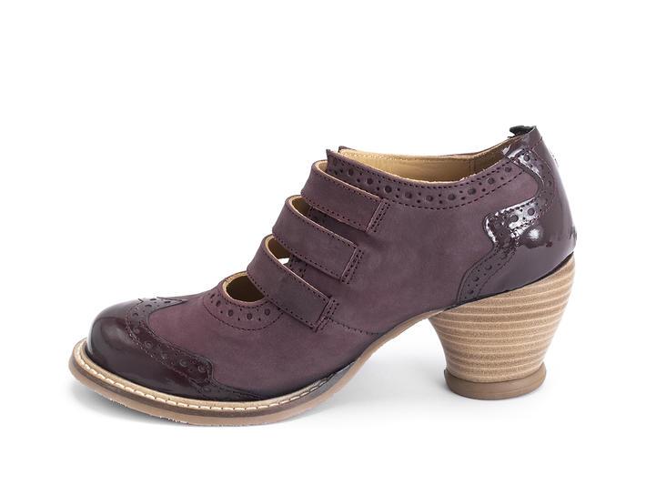 Kitchener Purple Triple strap mary jane