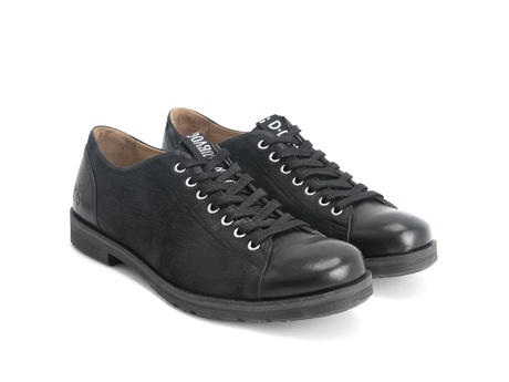 Putra Black Modern derby shoe