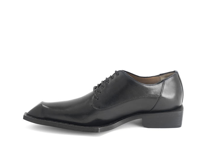 DIO: MEN'S Black Devil tail dress shoe