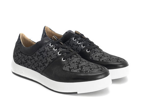 170V Black/JF Monogram Contrast low top sneaker