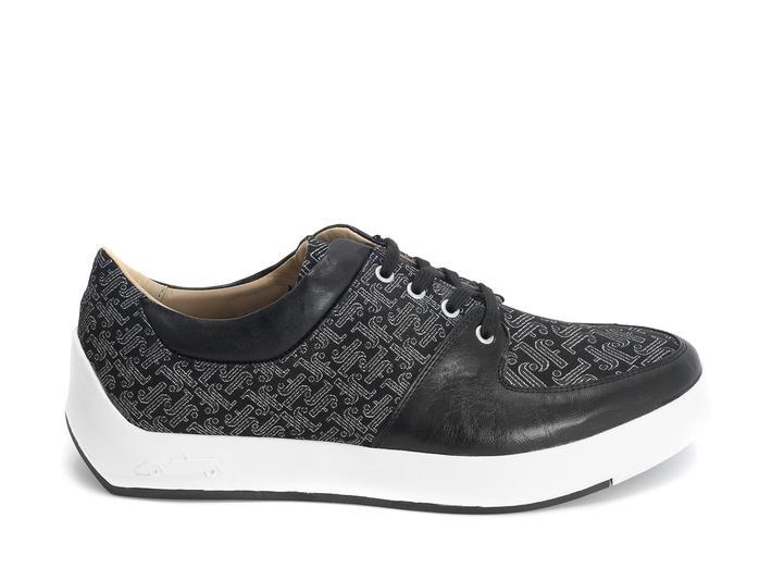 170V Black/JF Monogram Contrast low top sneaker