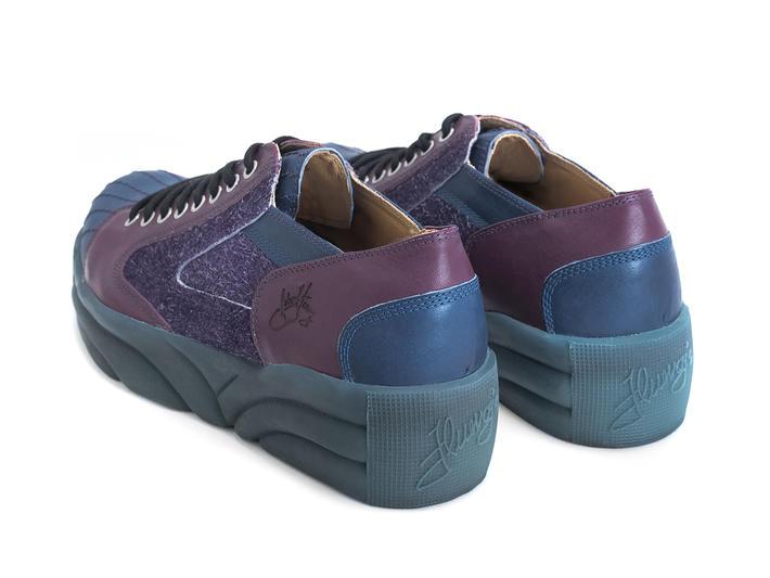 PV1 Purple Platform sneaker