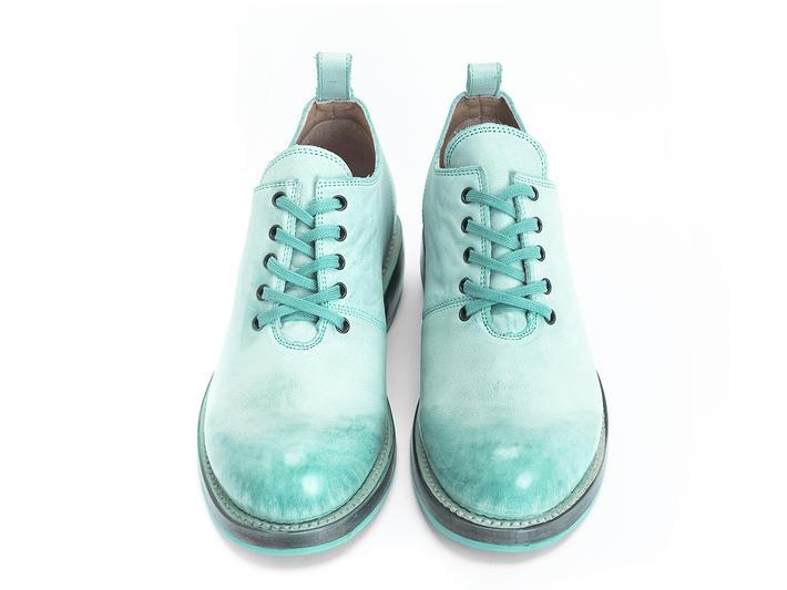 Winch Turquoise Chaussure plein patron