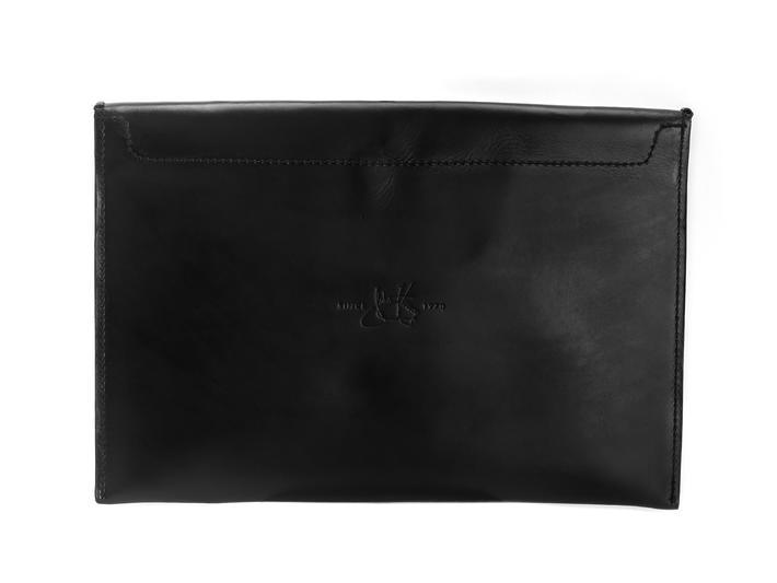 Tishie Laptop Case Black Leather laptop case