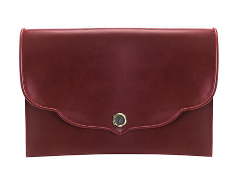Tishie Laptop Case Red Leather laptop case
