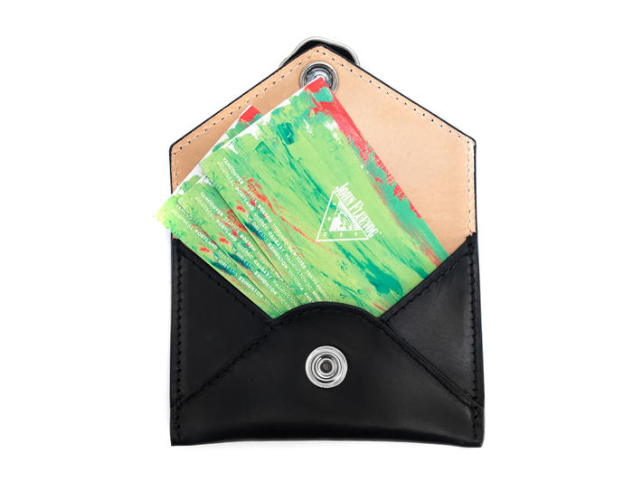 Peeps Cardholder Black Envelope cardholder