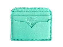 Bobsie Cardholder Turquoise Leather cardholder