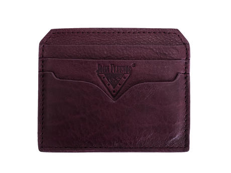 Bobsie Cardholder Purple Leather cardholder