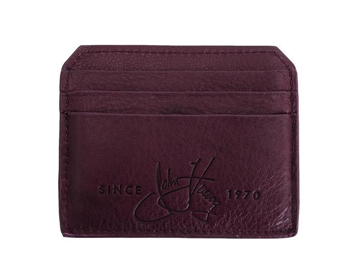Bobsie Cardholder Purple Leather cardholder