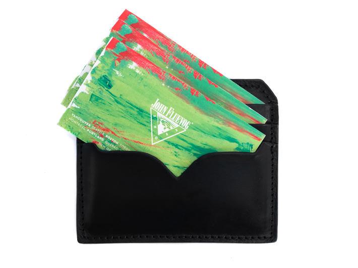 Bobsie Cardholder Black Leather cardholder