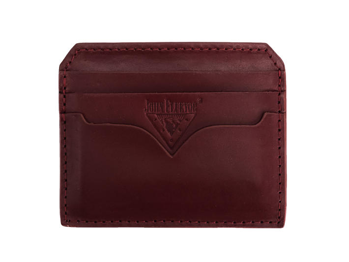 Bobsie Cardholder Red Leather cardholder