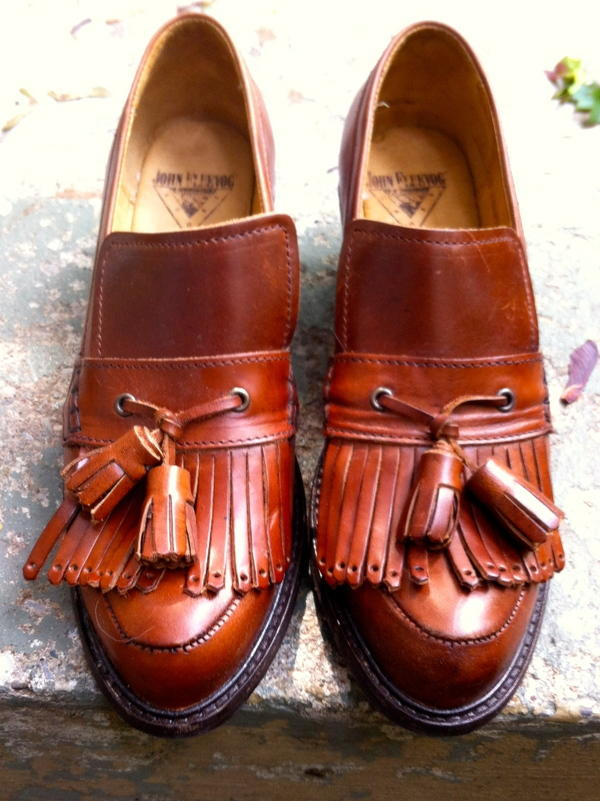 Adriana Fringe Loafer - REDUCED