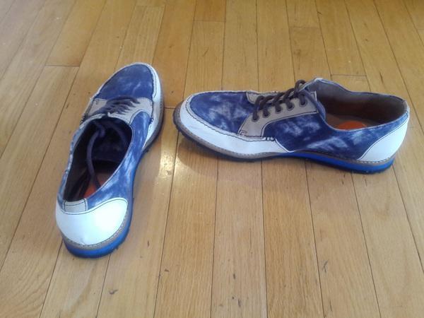 John Fluevog sample sale prototype shoes