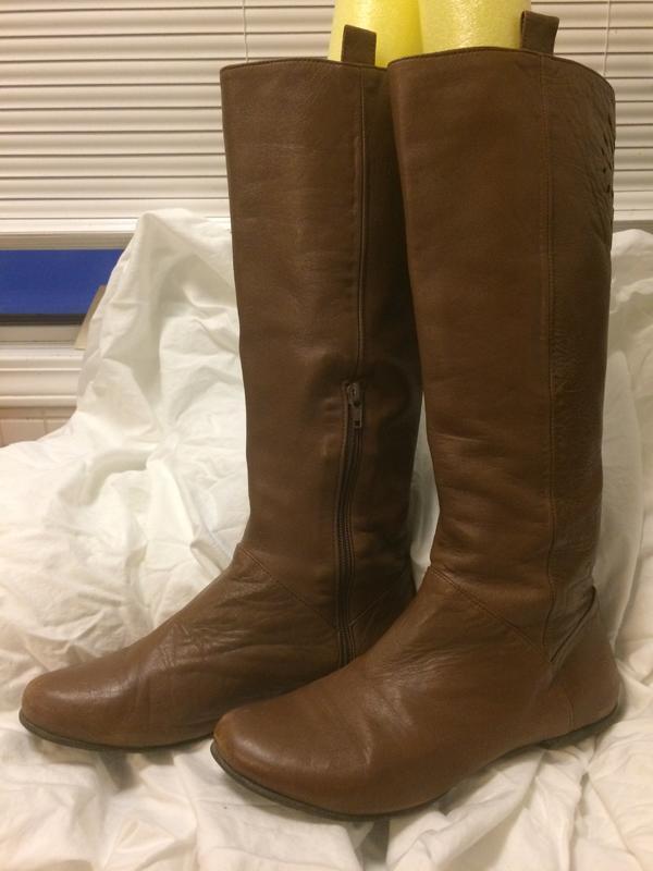 Anjali laser cut boots