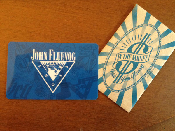 John Fluevog Shoes Gift Card