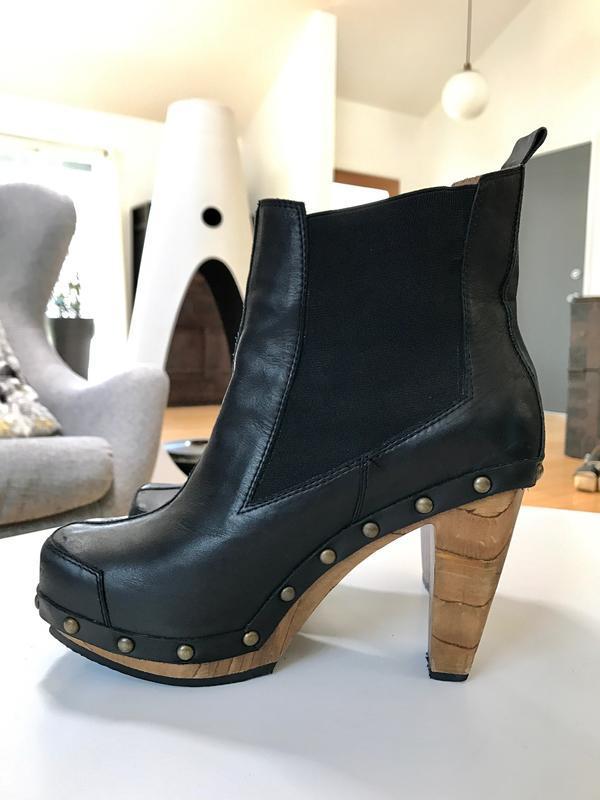 High-Heel Platform Booties