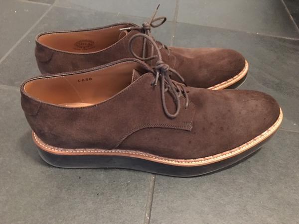 Men's Suede Oxford Shoe