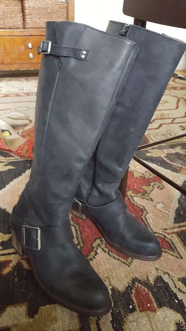 Adriana Luna leather boots size 10.5