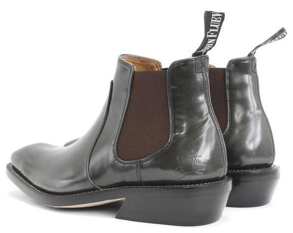 fluevogo libery boots: black size 11